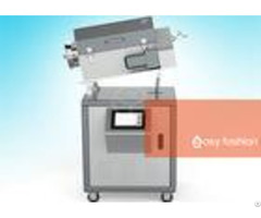 Large Scale Rotary Industrial Microwave Furnace Touch Screen Good Sealing