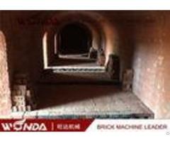 Durable Hoffman Brick Tunnel Kiln High Extrusive Pressure Produce Solid Bricks
