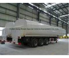50ton Liquid Asphalt Tanker Semi Trailer With 2tbl45p Baltur Heating And Insulation