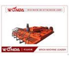 Zmp 380 Brick Setting Machine Hydraulic Driving Energy Efficient 1 Year Warranty