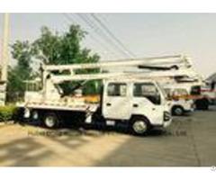 Isuzu Aerial Platform Truck 14m 16m 360 Degree Turning To Left Right Side