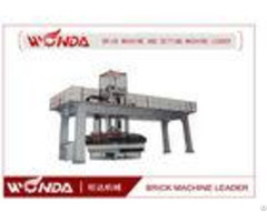 Stable Operation Brick Automatic Stacking Machine With Walking Car Lifting Guide Pillar