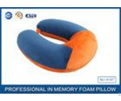 Soft Ergonomic Shapeed Memory Foam Neck Cushion Traveling Pillow