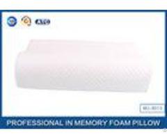 Ergonomic Visco Memory Foam Contour Pillow With Ventilated Tencel Mesh Cover