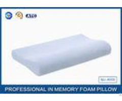 Soft Pure Comfort Memory Foam Contour Pillow With Cotton Velour Pillowcase Cover