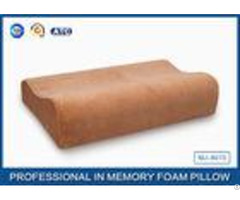 Health Care Pu Memory Foam Contour Pillow For Neck Shoulder And Back Pain