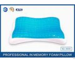 Kids Bed Sleeping Memory Foam Cooling Gel Pillow In Summer Low Resilience