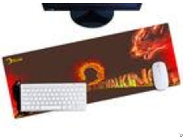 Professional Ergonomic Gaming Mouse Pad Easy Cleaning For Office Home