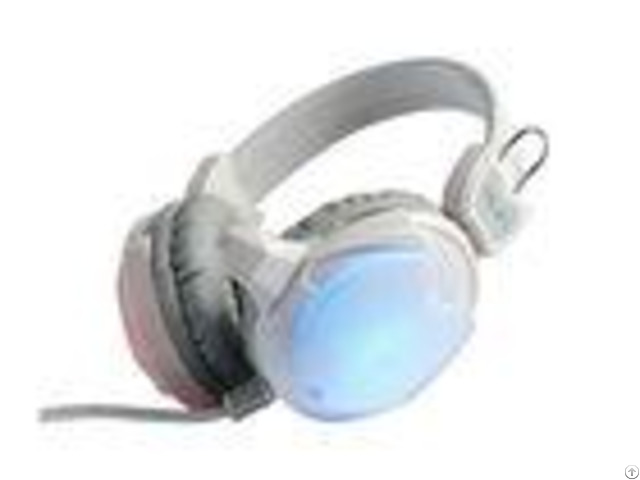 White Computer Gaming Headphones Sound Isolation Oem Odm Available
