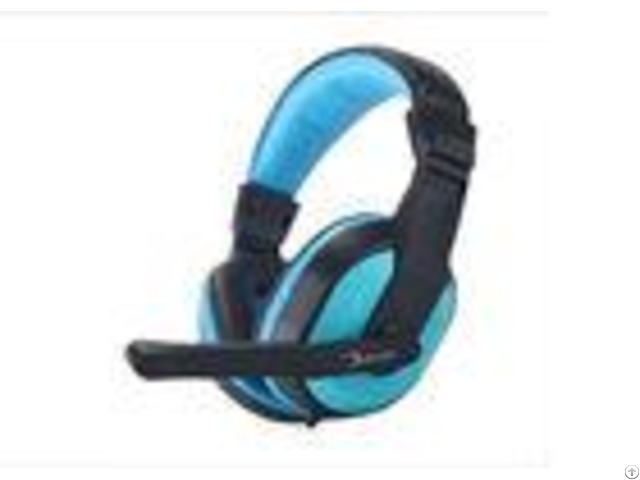 Blue Wired Bass Stereo Computer Gaming Headphones For Ps4 Pc Laptop