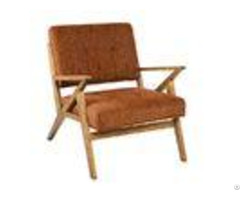 Mid Century Modern Dcor White Upholstered Chairlounge Room With Arms