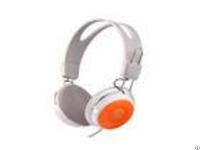 Multi Function Noise Eliminating Headphones For Pc Gaming Orange Color