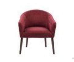 Coral Upholstered Accent Chairs 100% Polyester Tailor And Tufted Bottons