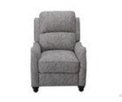 Automatic Push Back Recliner Chairtailored Pleated Corners With Stuff Cushions