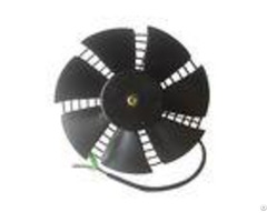 Black Motorcycle Spare Parts Electric Radiator Cooling Fans For Water Cooled Engine