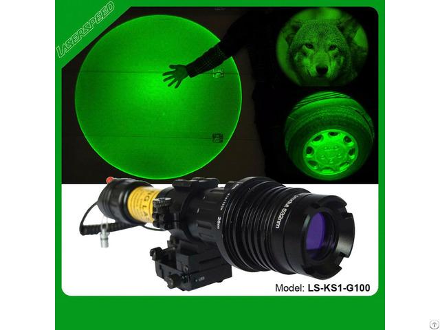 Hunting Green Laser Designator