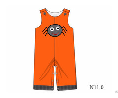 Lovely Spider Applique Longall For Little Boy Bb705