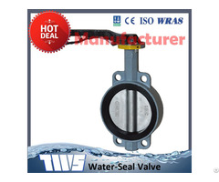 Cast Iron Or Ductile Butterfly Valves With Handle Lever