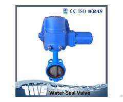 Dn50 1200 Butterfly Valve With Electric Actuator