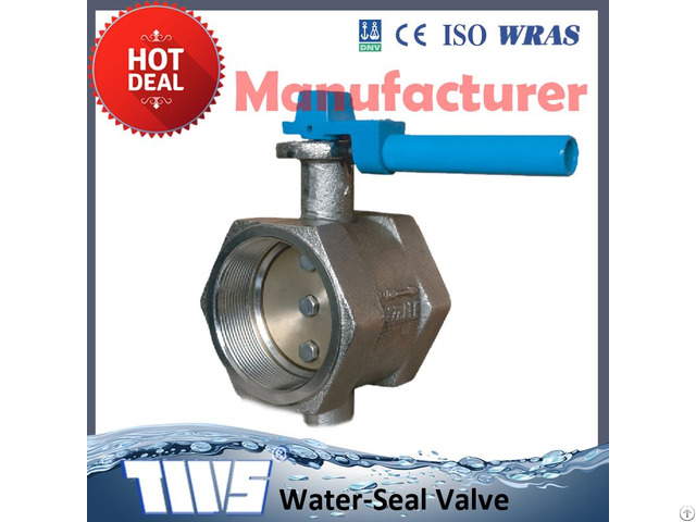 Screw Type Cast Iron Butterfly Valves