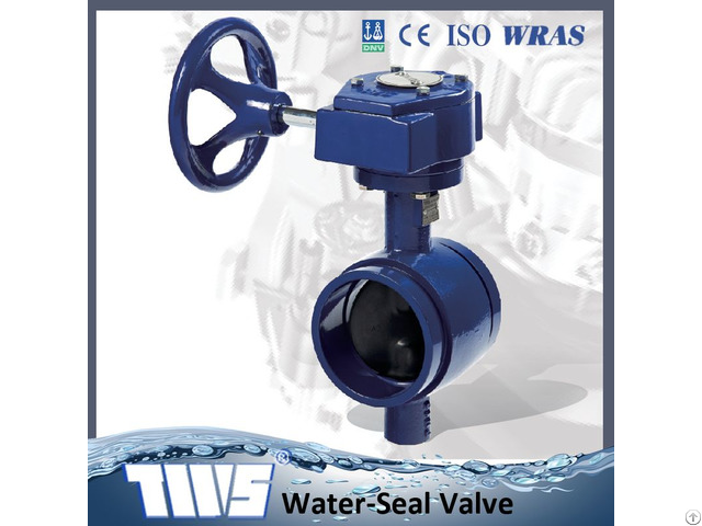 Dn50 300 Grooved End Butterfly Valves