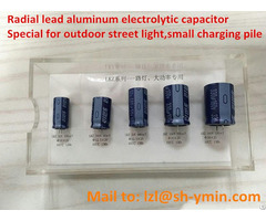 Lkz Radial Lead Aluminum Capacitor For Charging Pile 10000 Hours At 105