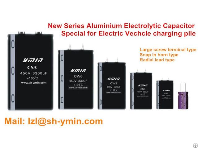Ev Charging Pile Aluminum Electrolytic Capacitors