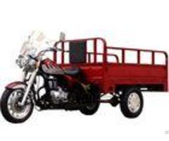 Open Body Three Wheeler Cargo Tricycle Motor 150cc R F Drum Brake Type