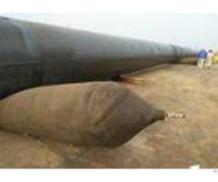 Big Carrying Capacity Marine Rubber Airbag Boat Recovery Airbags Small Size While Deflated
