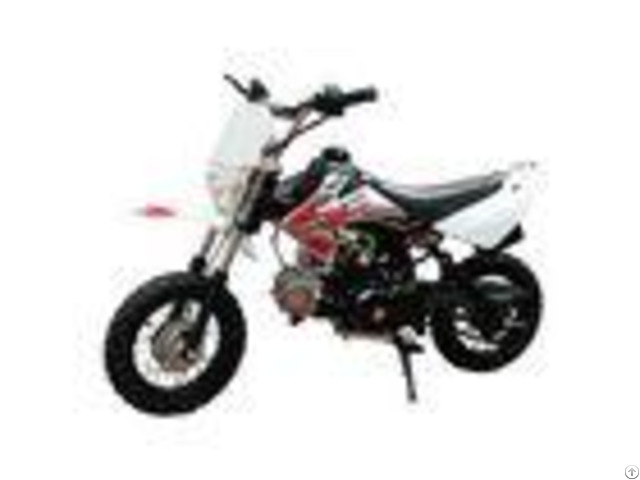 125cc Air Cooling Engine Gas Dirt Bikes Drum Brake 55km H Max Speed