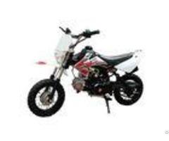 125cc Air Cooling Engine Gas Dirt Bikes Drum Brake 55km H Max Speed
