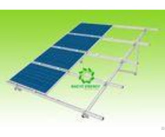 Aluminum Pre Assembled Ground Solar Mounting System With Ce Certificate