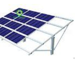 Customized Solar Ground Mount System 10 Years Warranty Provided Technical Support