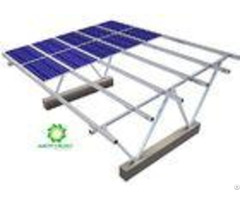 Photovoltaic Panel Carport Solar Systems 10 Years Warranty Al 6005 T5 Material