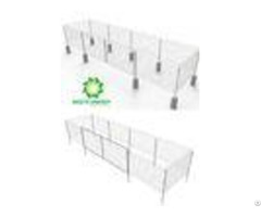 Galvanized Wire Fence Panels Simple All In One For Solar Pv Power Plants