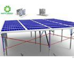Premium Ground Mount Solar Racking Systems Corrosion Resistance High Compatibility