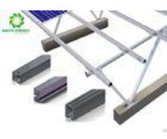 Corrosion Resistance Adjustable Solar Panel Brackets Ground Mounting System
