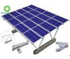 Water Repellent Ground Mount Solar Racking Systems Excellent Stability