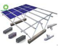 Waterproof Carport Solar Systems Pv Racking System Corrosion Protection