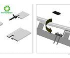 Quick Installation Custom Solar Mounting Brackets Strong Reliability And Assurance