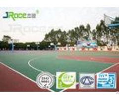 Anti Dirt Athletics Running Track Surface Epdm Seamless Flooring 3 8mm Thickness