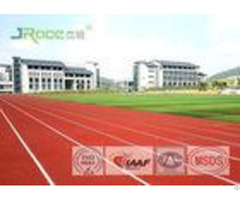 Standard Tartan Track Surface Polyurethane Resin Material Flame Resistant