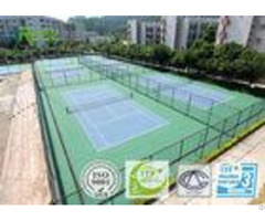 Professional Spu Sport Court Flooring Shock Absorption For Games Area