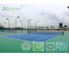 Indoor Outdoor Acrylic Tennis Court Flooring Materials Seamless Design