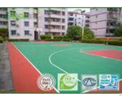 Basketball Sport Court Surface Plastic Coating Pu Rubber Material Seamless Design