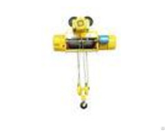 Lifting Goods Electric Wire Rope Hoist Leading Crane Large Tonnage With Trolley