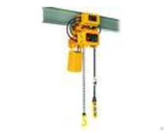 220v 440v Electric Chain Hoist Leading Crane Steel Material 3m Standard Lifting Height