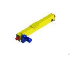 Single Girder Top Running Crane Carriage Alternative Motor Color Voltage High Performance