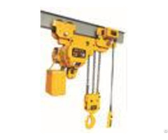 Low Headroom Electric Chain Hoist Customized Request For Lifting Goods