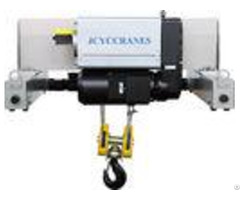 Electric Wire Rope Double Girder Hoist For Lifting Goods To 50t